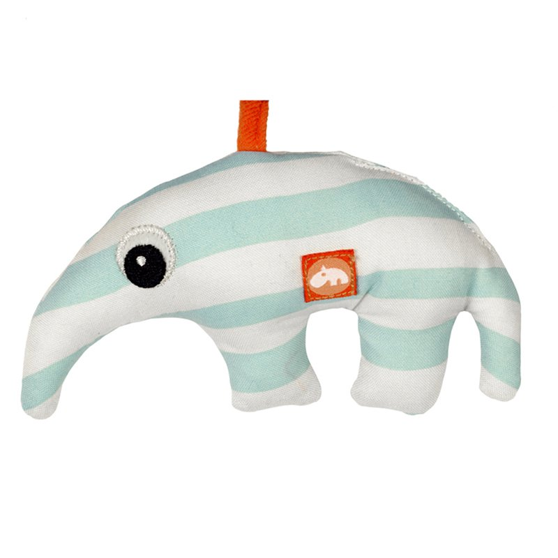 "Sitzsack Hocker Done By Deer - Kinderwagen Kette ""zoopreme"" / Blau, 22,50"