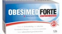 Obesimed Forte – Medisch hulpmiddel om gewicht te verliezen