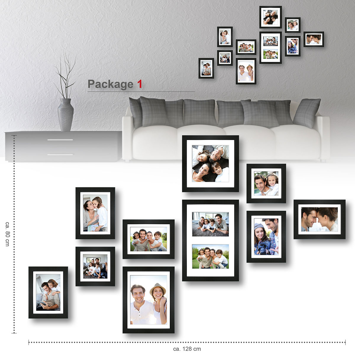 Bilder Collage Wand Bilder Collage Wand Smartstore