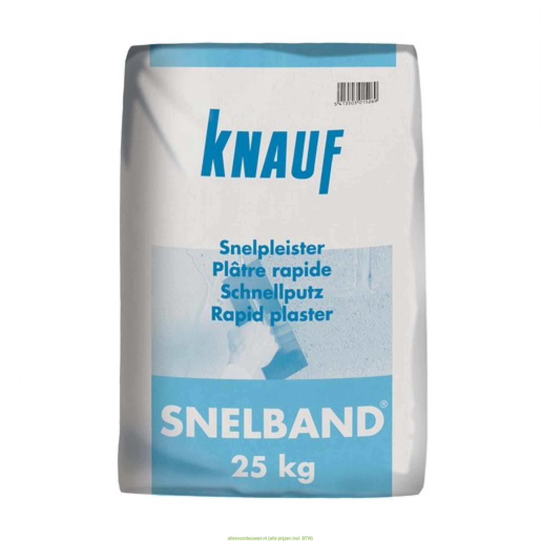 Geelband Of Roodband Knauf Snelband 25kg