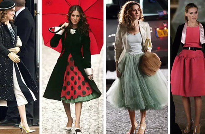 best carrie bradshaw looks according to alley girl main