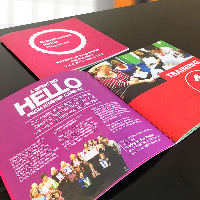 Booklets Design and Print Derry Londonderry Northern Ireland