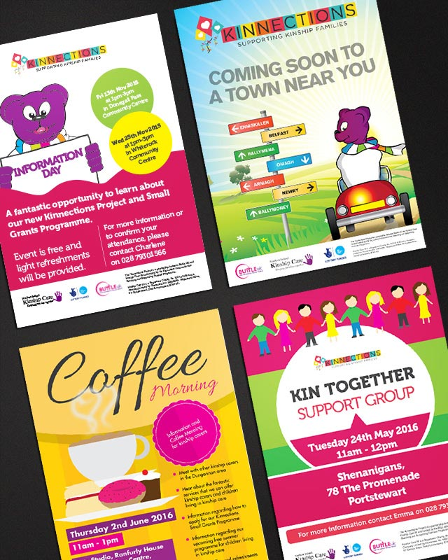 Flyers A5 A4 DL Design and Print Derry Londonderry Northern Ireland