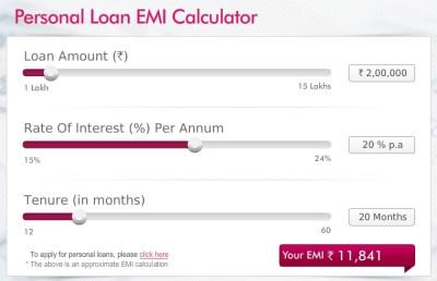Ease and convenience through an EMI calculator for Personal Loans | AllFinanceTalk