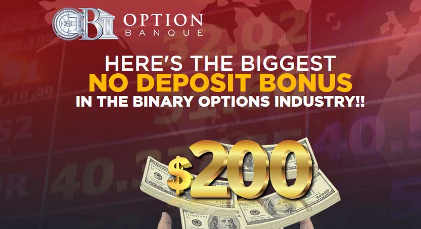 Binary options with no deposit bonus