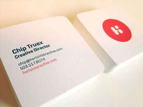 Square Business Cards 33 Modern Mini Card Design Examples