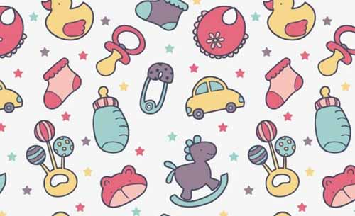 Cute Wallpapers For Kids Baby Background Designs 100 Cute Seamless Patterns