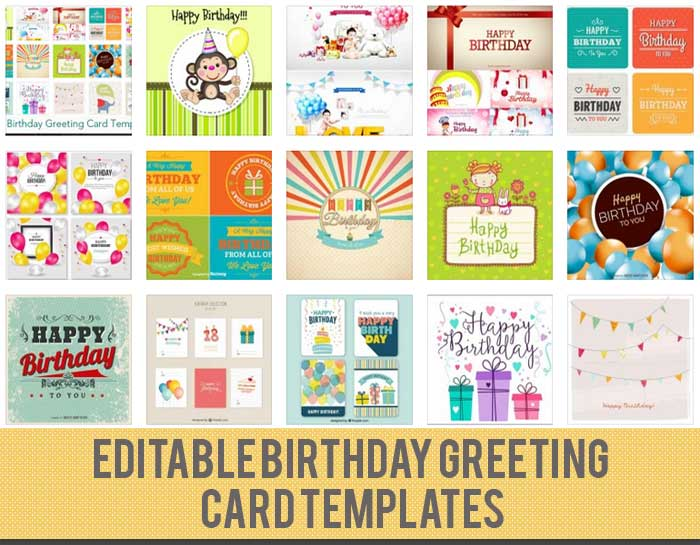 Birthday Card Template 15 Free Editable Files to Download - happy birthday cards templates