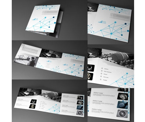 Tri-fold Brochure Template 20 Free Easy-to-Customize Designs - trifold indesign template