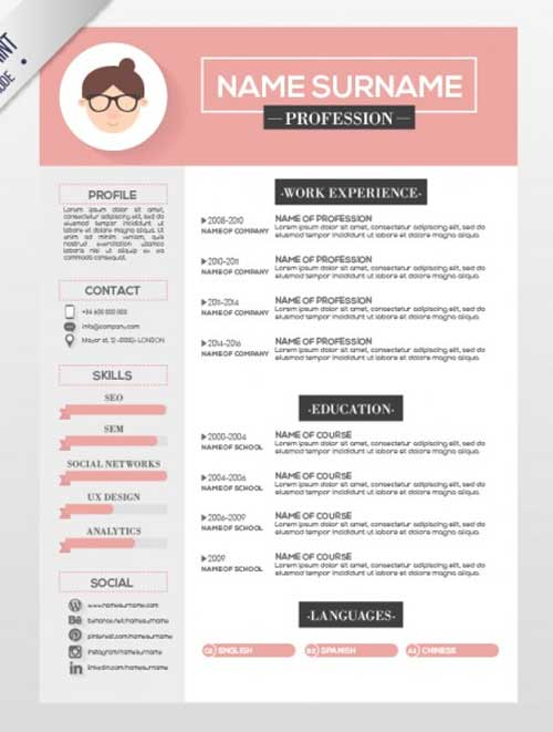 resume portfolio builder