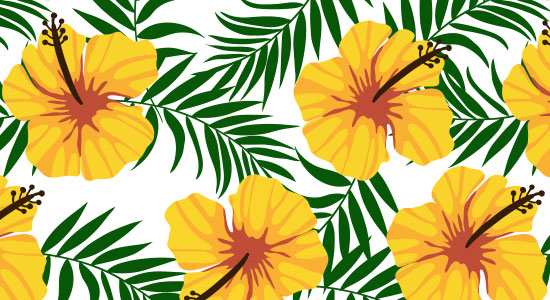 Cute And Pretty Wallpapers Tropical Background Patterns 8 Free Designs For Summer 2017