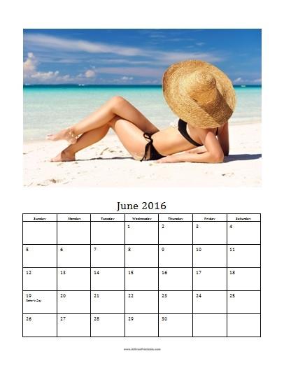 2016 Photo Calendar Templates MS Word - Free Printable - calendar template for word