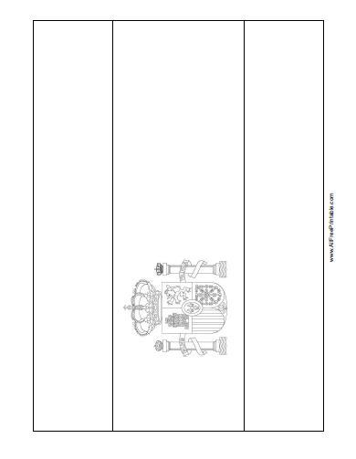 Spain Flag Coloring Page - Free Printable - AllFreePrintable