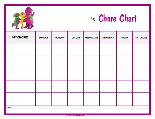 Blank Reward Chart Template  SpongeBob Reward Chart - blank sticker chart