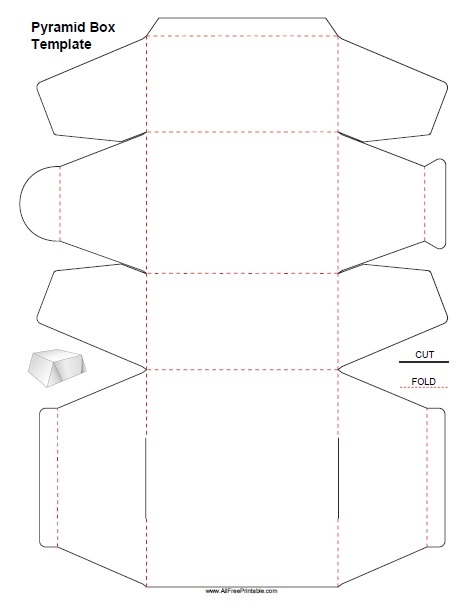 Gift Box Templates - Free Printable - AllFreePrintable