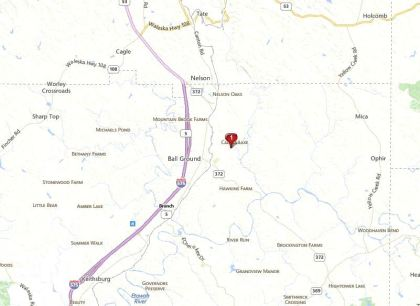 Ball Ground Map Location Of Mountain Brooke N