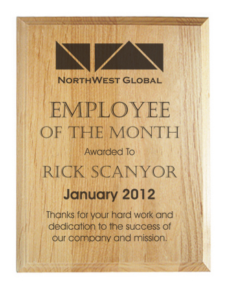 Employee-of-the-Month-Plaque - All Gifts Considered