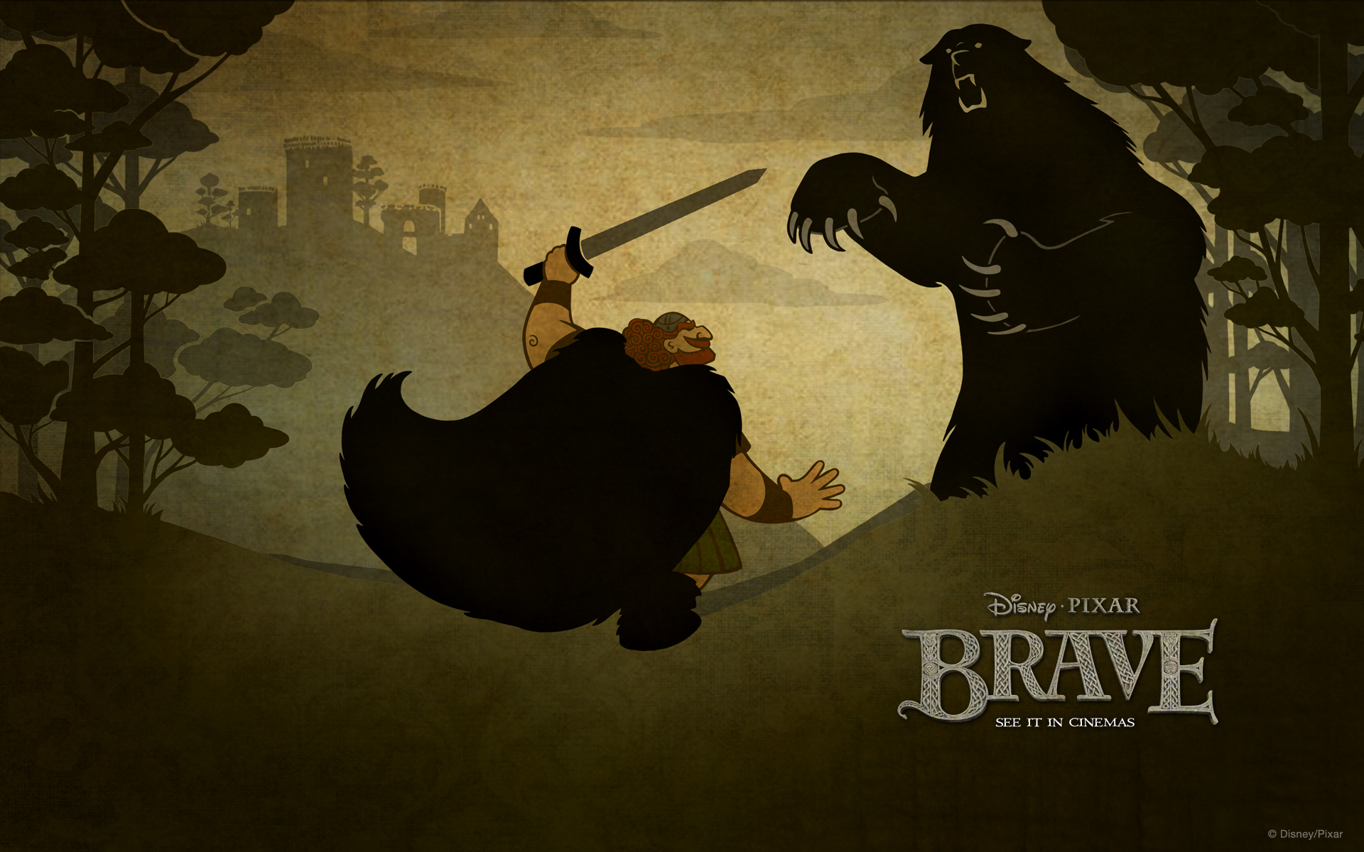Animated Hd Wallpapers For Pc Full Screen Brave Animated Movie Outstanding New Wallpapers All Hd