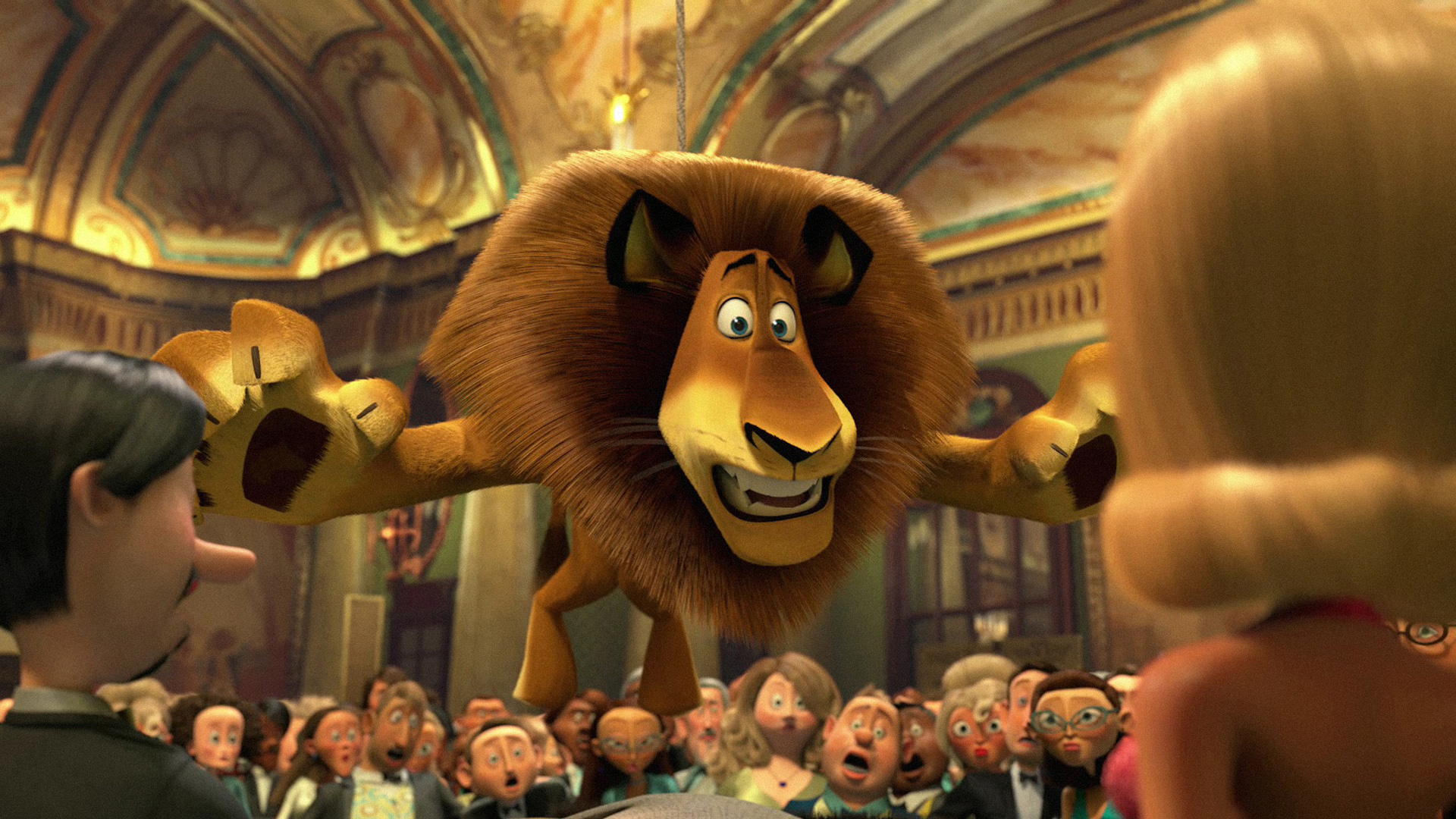 Animated Lion Wallpaper Hd Madagascar 3 Europe S Most Wanted Hd Wallpapers All Hd