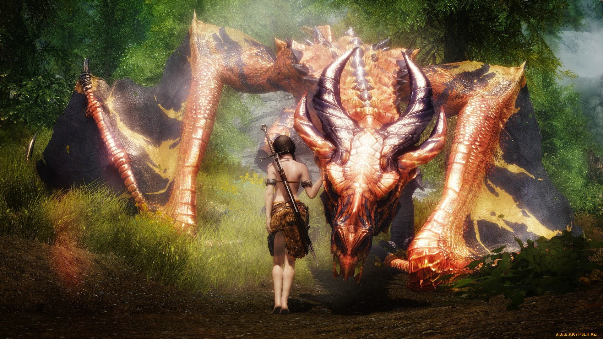 Smart Girl Wallpaper Free Download New Skyrim Game Awesome Hd Wallpapers All Hd Wallpapers