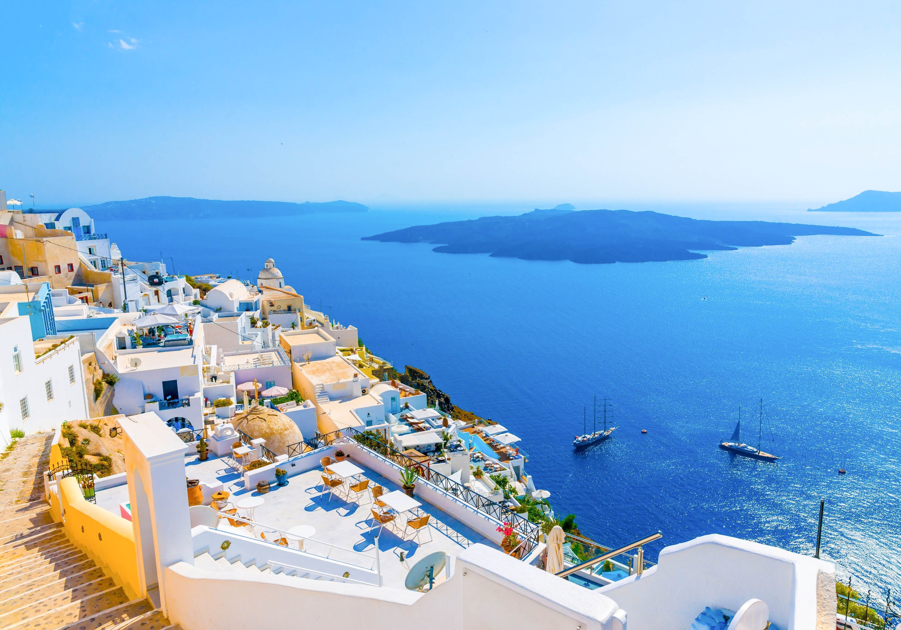 Samsung Galaxy 3d Wallpapers Free Download Santorini Amazing Hd Wallpapers High Resolution All Hd