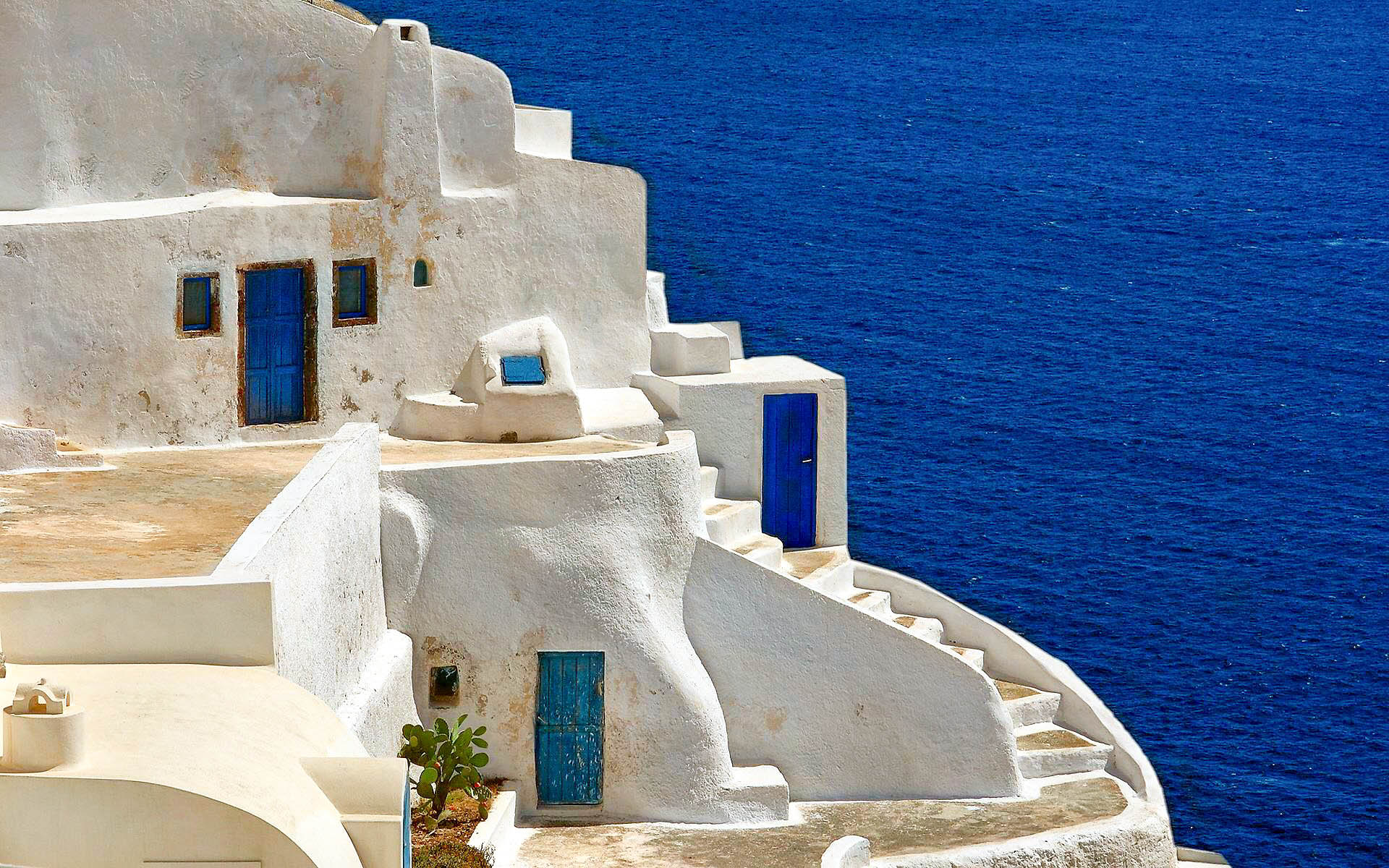 Best 3d Amazing Wallpapers Santorini Amazing Hd Wallpapers High Resolution All Hd