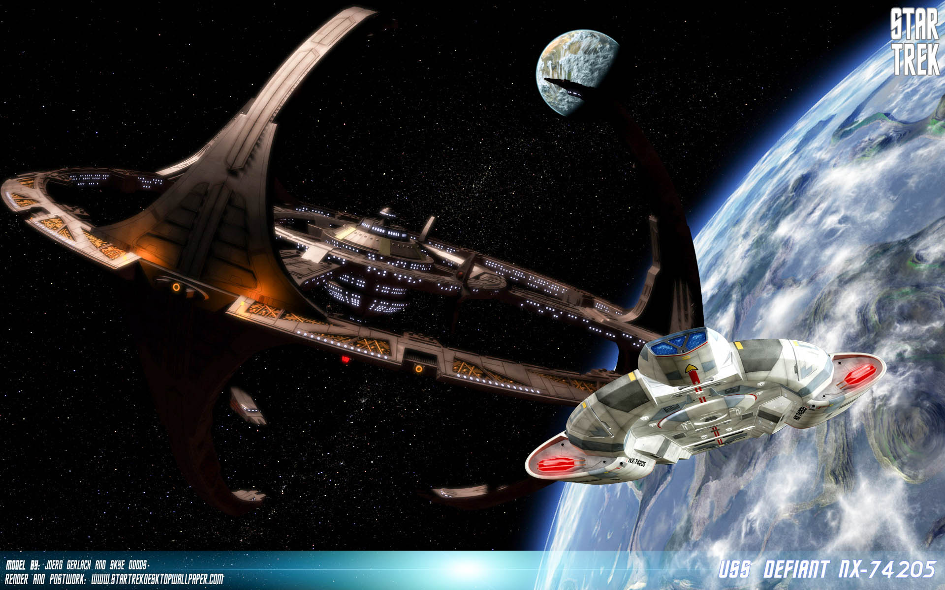 3d Anaglyph Wallpapers Free Download Star Trek Deep Space Nine Tv Show Hd Wallpapers All Hd