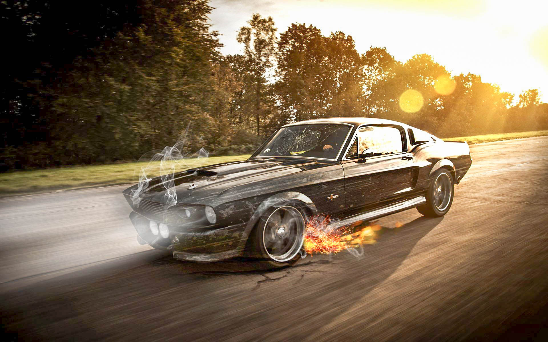 Muscle Car Iphone Wallpaper Ford Mustang New Model Epic Hd Wallpapers 2017