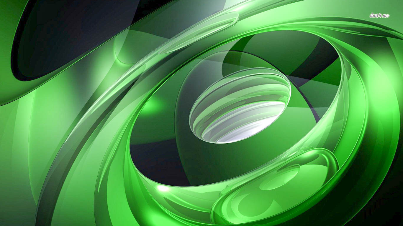 3d Wallpaper Hd 1080p Free Download 1366x768 Nature Green Abstract Hd Wallpapers In High Resolution All