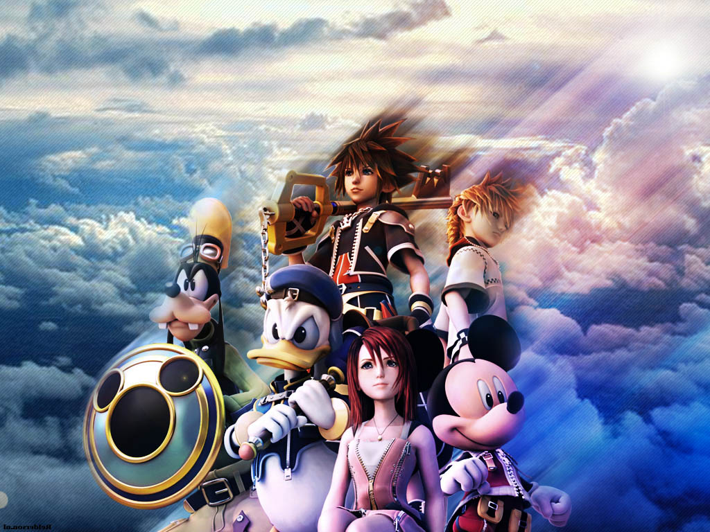 Kingdom Hearts Iphone Wallpaper Kingdom Hearts Video Game New Wallpapers Backgrounds