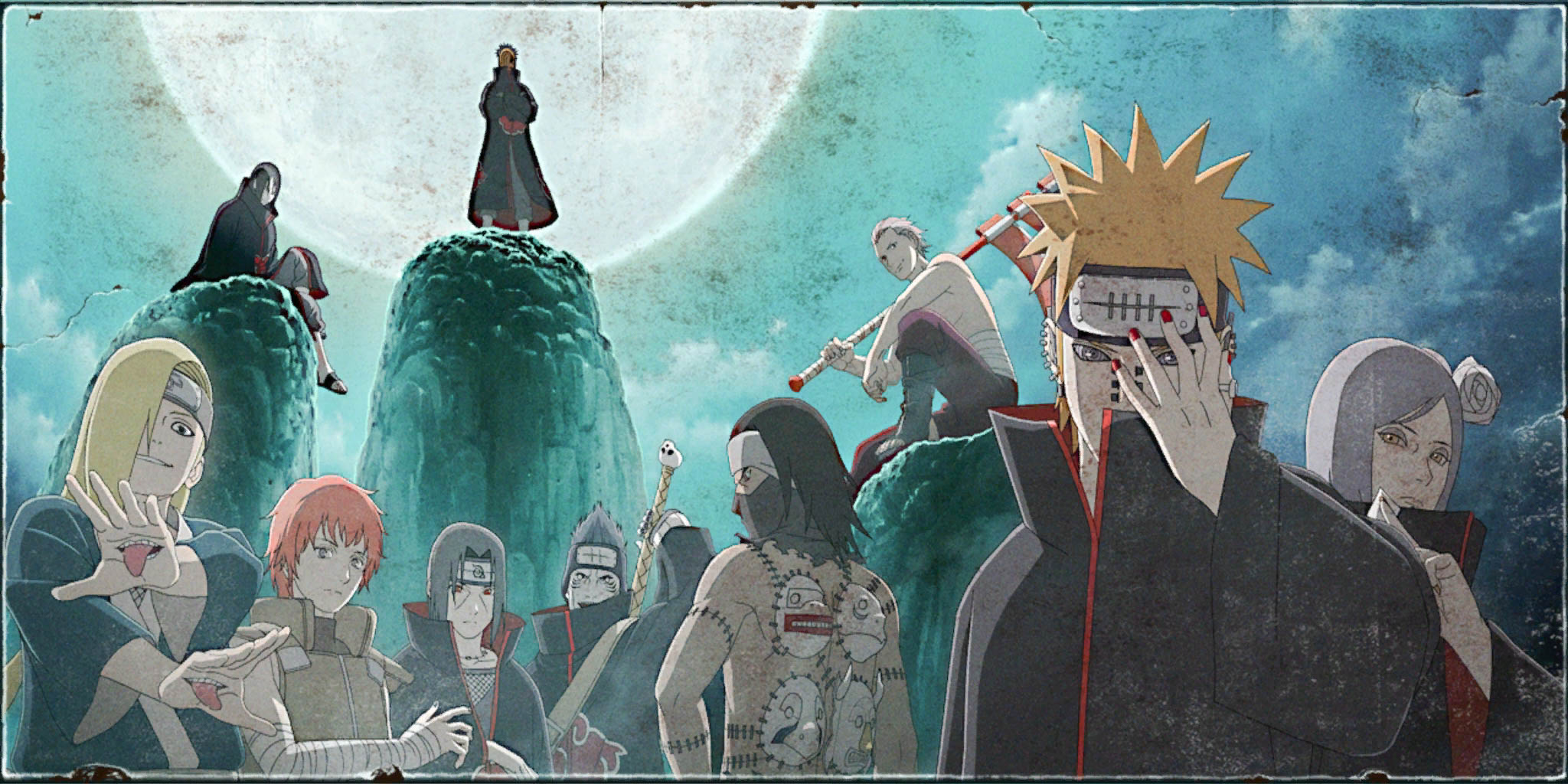 Naruto Shippuden All Girls Wallpaper Naruto Shippuden Ultimate Ninja Storm Revolution