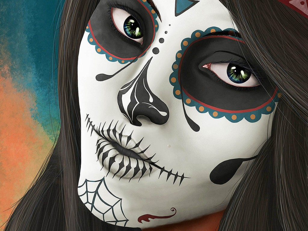 Iphone X 3d Touch Wallpaper Sugar Skull Amazing Wallpapers Hd Pictures Amp Desktop