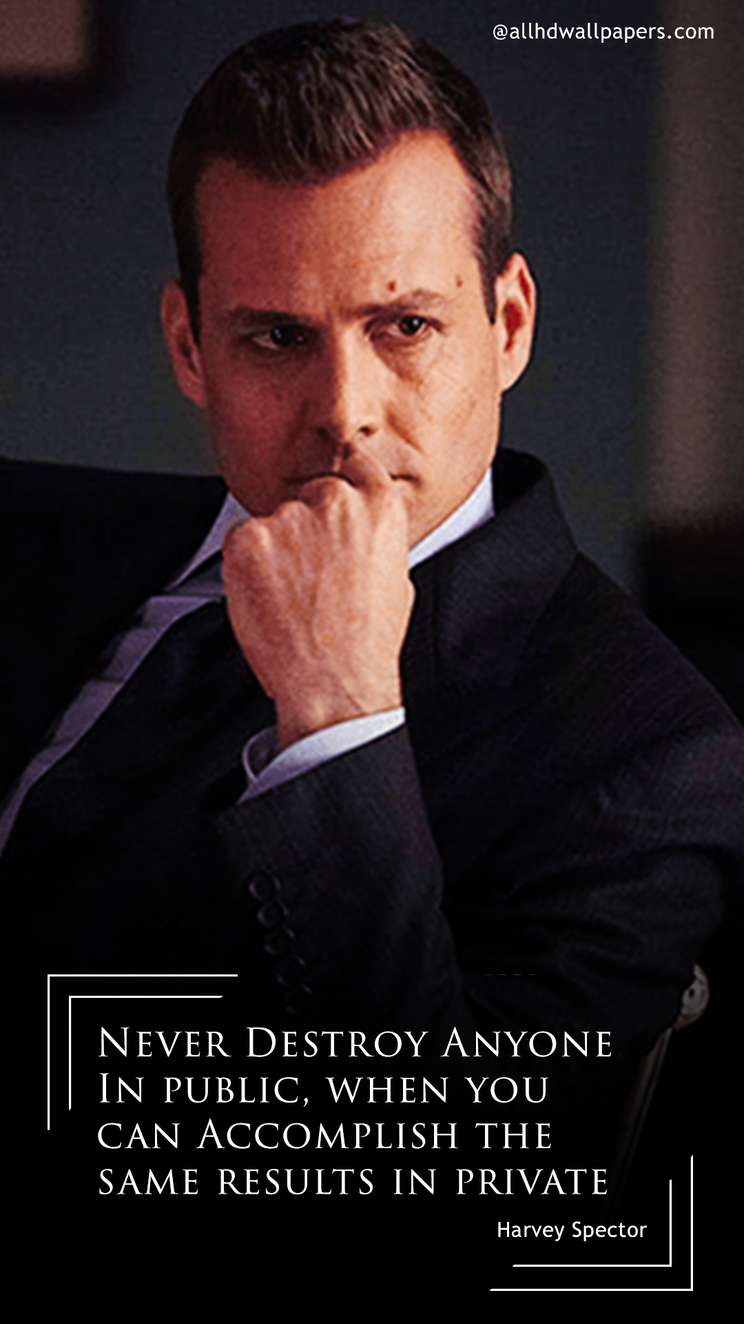 Iphone Sayings Wallpaper 11 Harvey Specter Quotes Will Inspire You To Work Hard