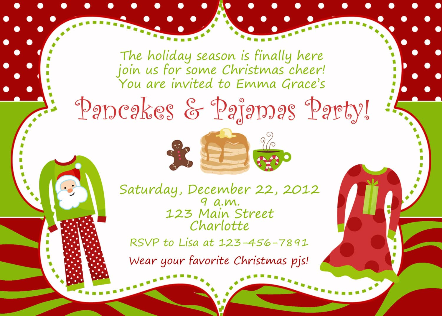 Christmas Party Invitation Wording Gallery - Party Invitations Ideas