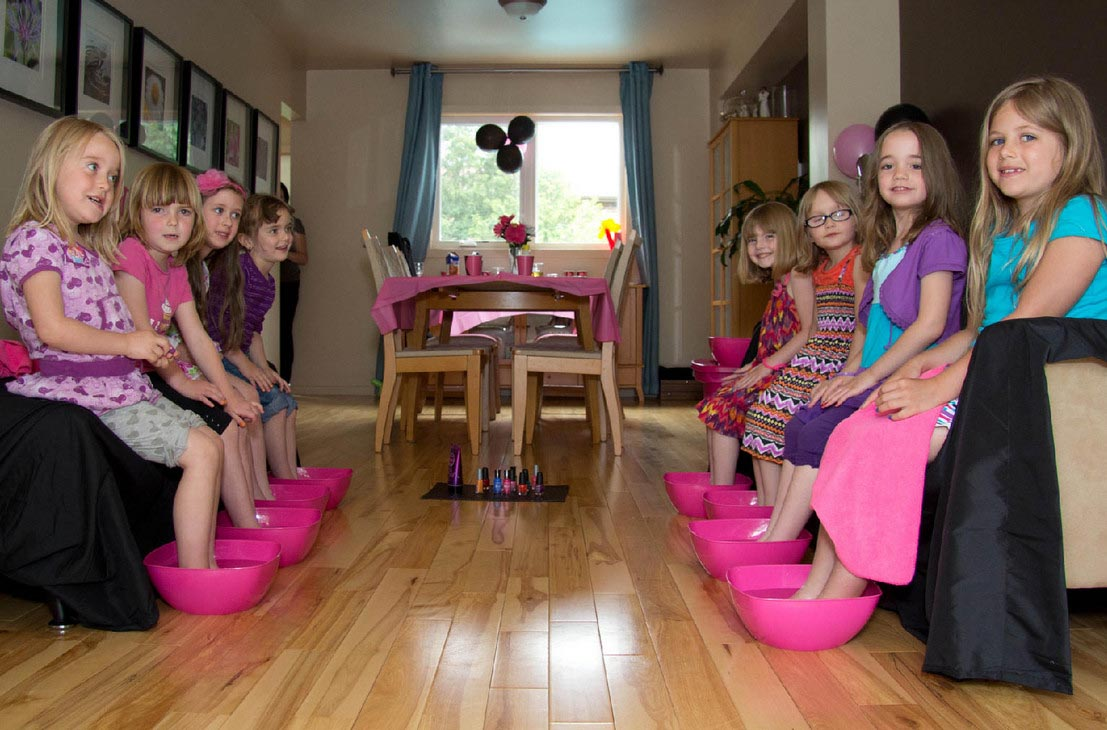 Geburtstag Feiern Home Kids Spa Party | Home Party Ideas