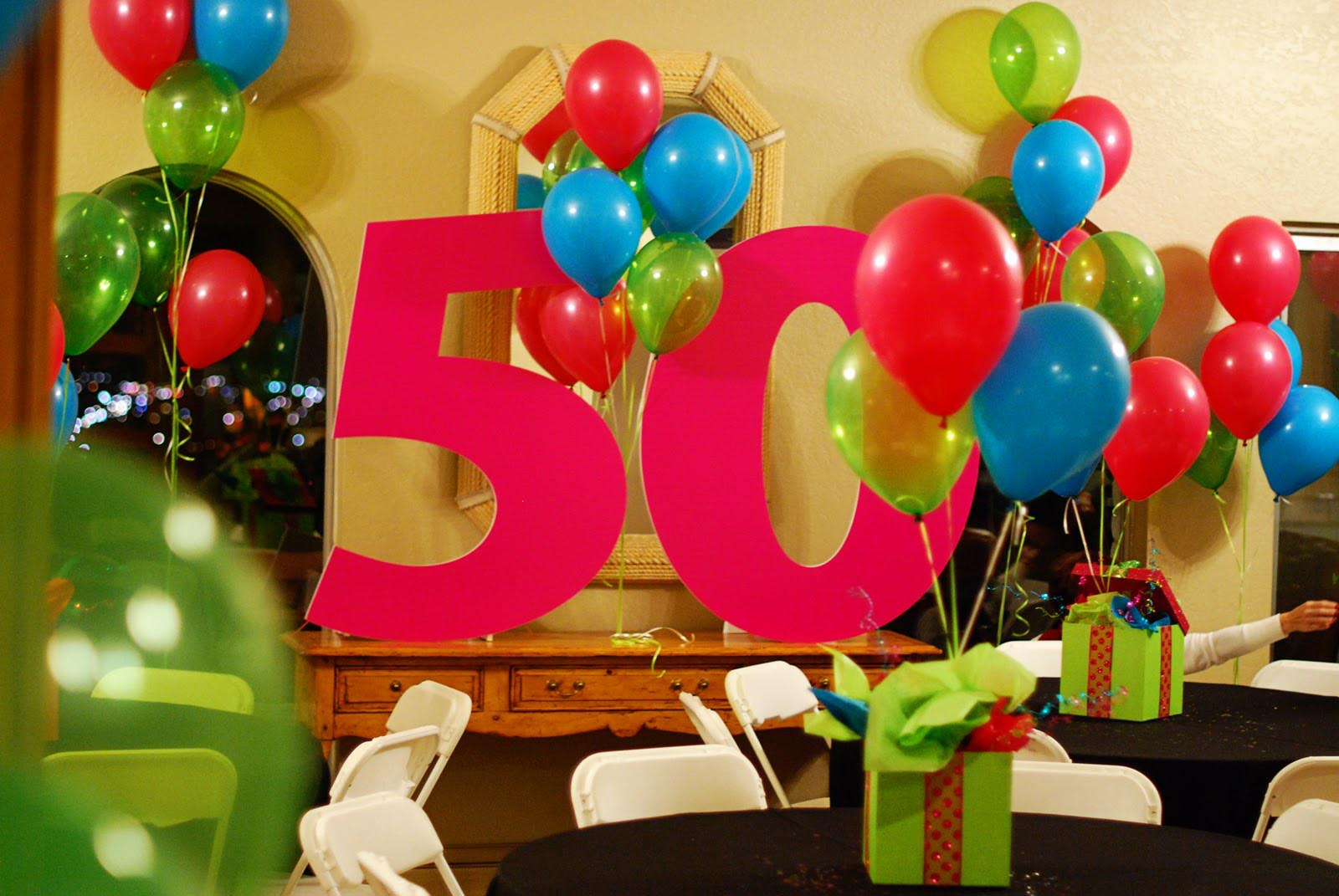 50th Birthday Surprise Party Ideas Home
