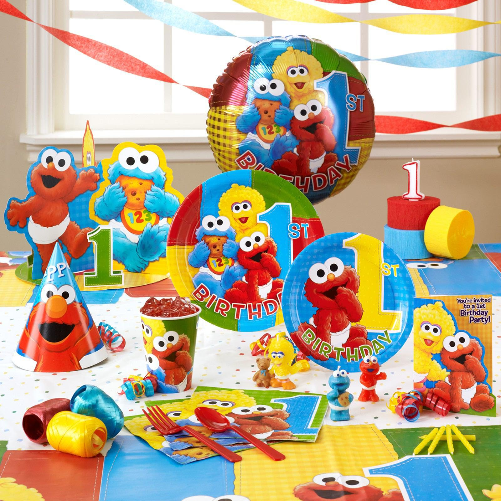 Birthday Supplies The Gallery For Gt Elmo 1st Birthday Decorations