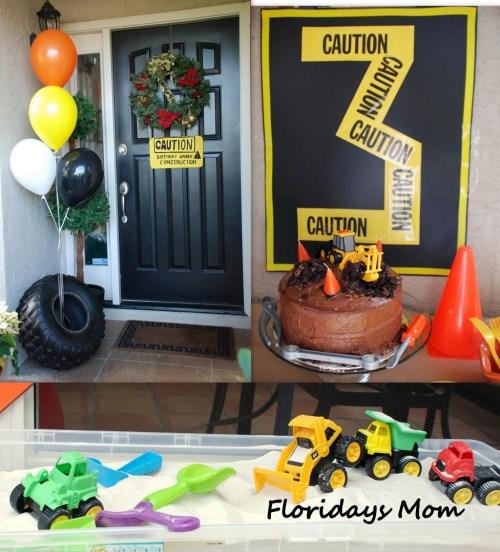 Medium Of Construction Birthday Party
