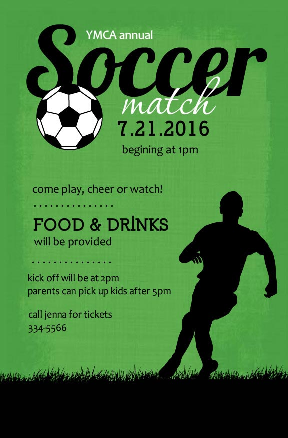 Soccer Birthday Party Invitations Home Party Ideas