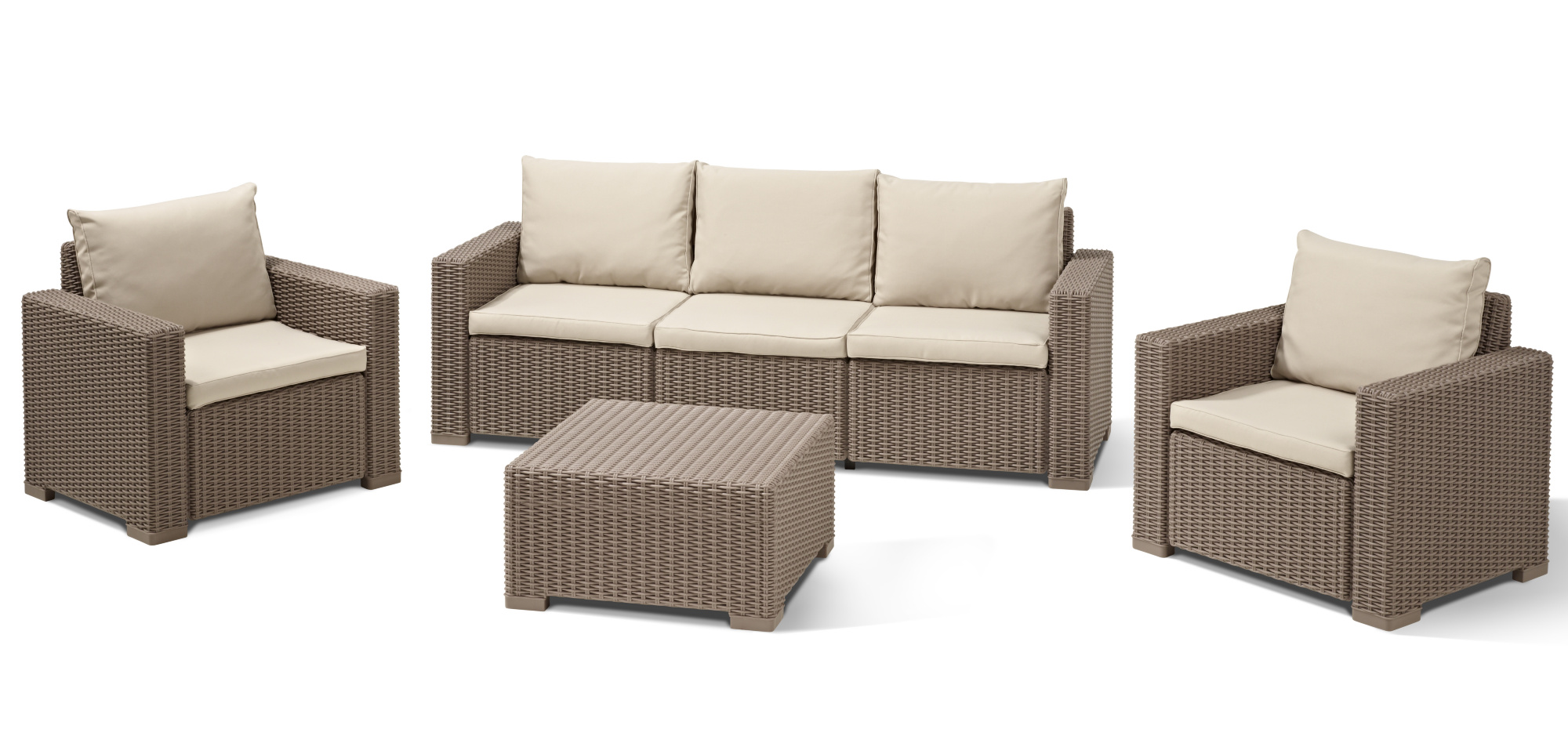 Lounge Set Mit Esstisch Loungemöbel Lounge Gartenmöbel Lounge Sets Allibert