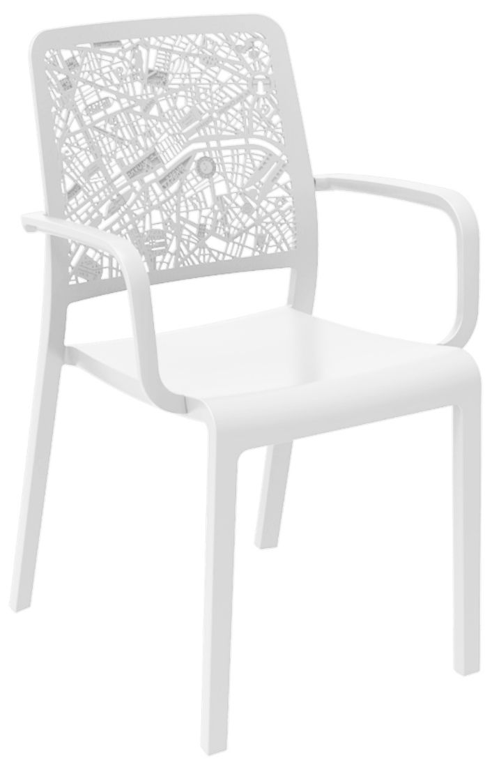 Salon De Jardin Allibert Gris Allibert Charlotte City Fauteuil Blanc - Allibert