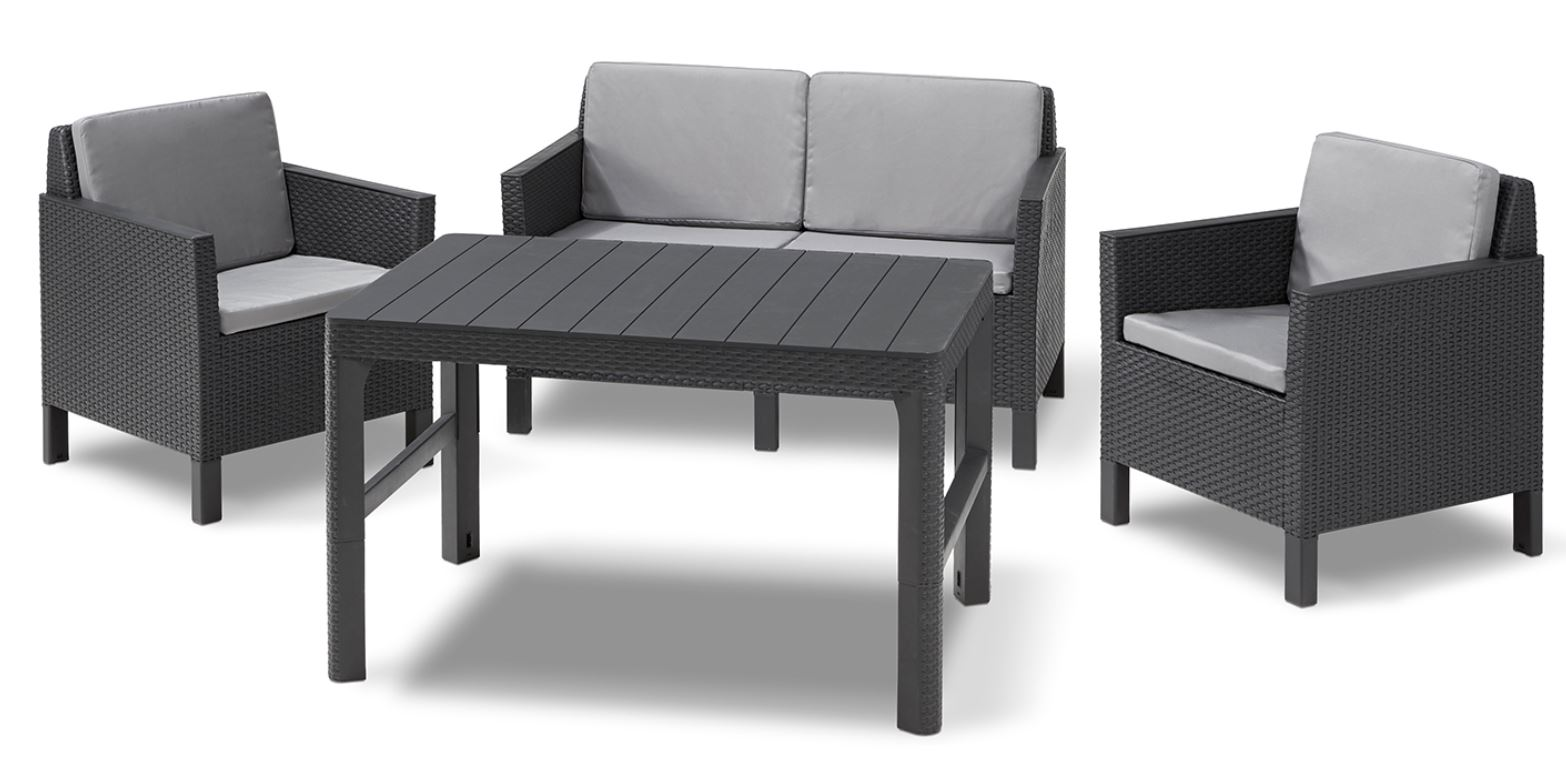 Gartentisch Jumbo Loungemöbel Lounge Gartenmöbel Lounge Sets Allibert