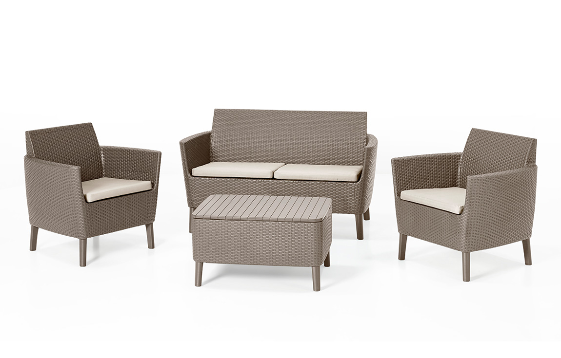 Jumbo Gartenmöbel Loungemöbel Lounge Gartenmöbel Lounge Sets Allibert