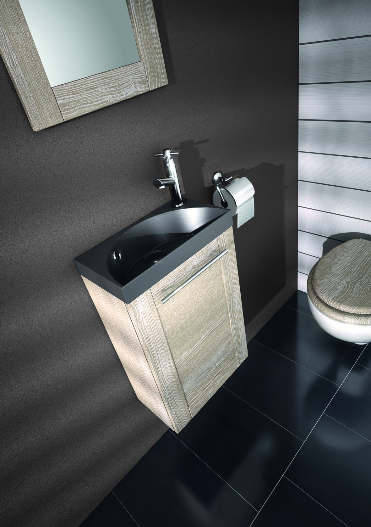 Largeur Toilette Lave-mains Coventry | Allibert Belgique