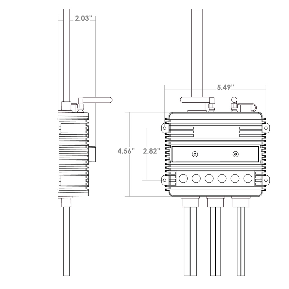 overhead relay for remote control on jeep