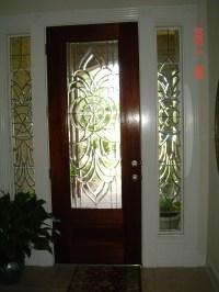 Bevel Side Windows for Front Door | Allie Kay's Glass & More