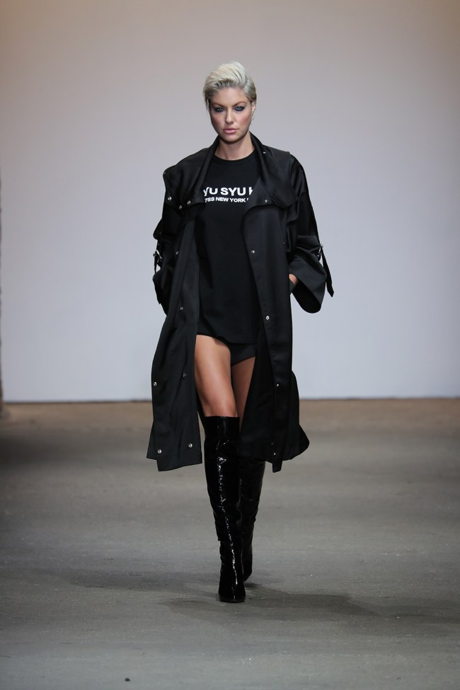 The second show to walk for the China Moment collective was Syu Syu Ha