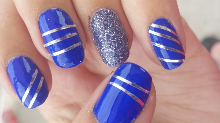 Comfortable 32 Blue Nail Designs For Prom Picsrelevant Ivoiregion