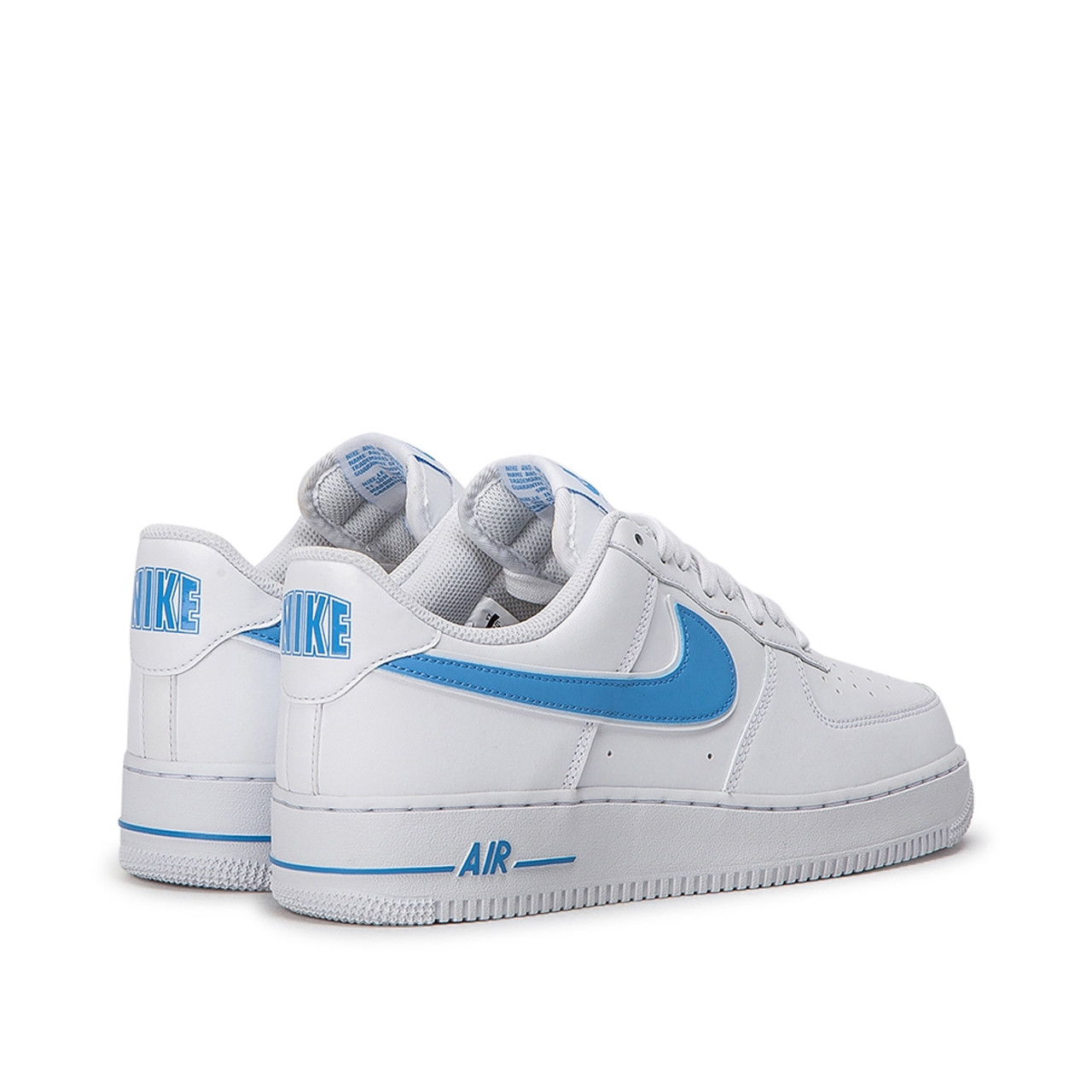 Nike Blau Nike Air Force 1 '07 3 (weiss / Blau) Ao2423-100
