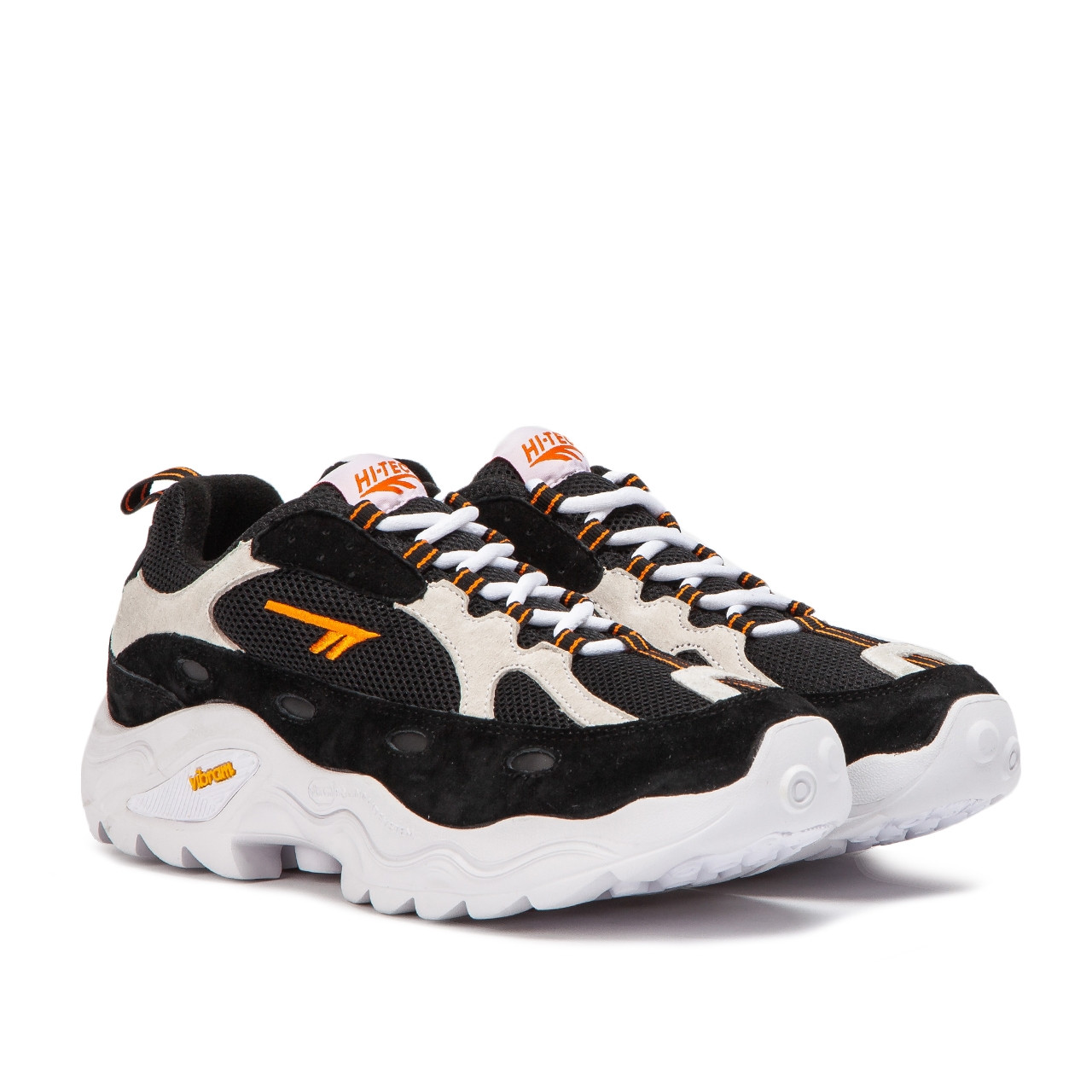 Hi Tec Com Hi Tec Hts Flash Adv Racer Black White Neon Orange